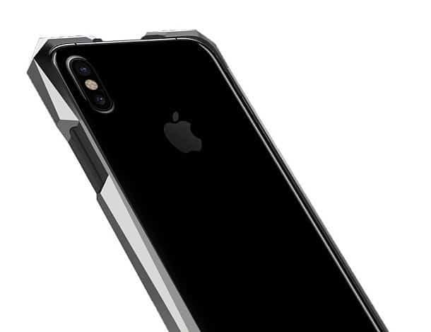 Титановые бамперы для айфонов Gray Advent
