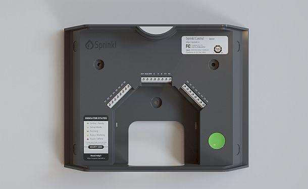 Умная система контроля за поливом Sprinkl