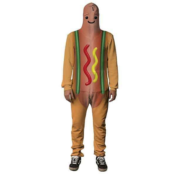 Эпатажный костюм танцующего хот-дога