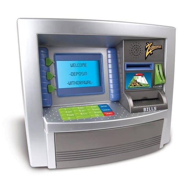 Игрушечный банкомат для детей