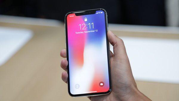 Полностью безрамочный iPhone X