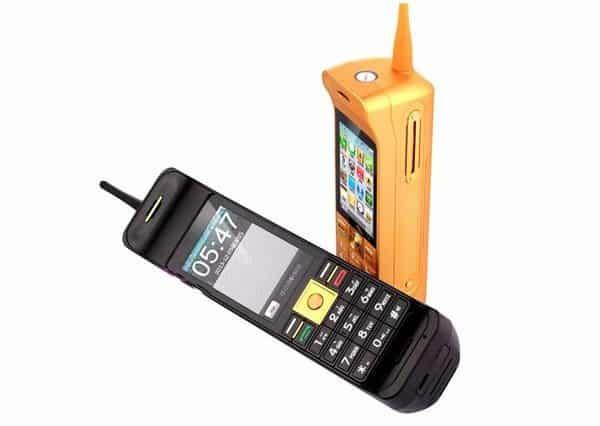 Многофункциональный телефон-повербанк в ностальгическом стиле Mafam C10