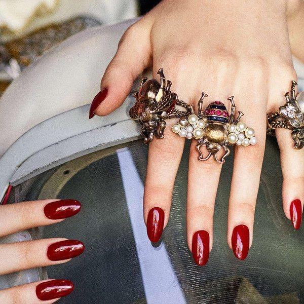 Кольца-жуки от Gucci