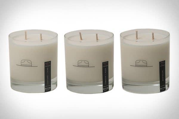 Ароматические свечи с настоящими мужскими запахами