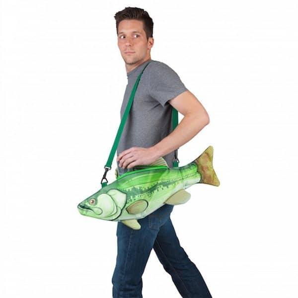 Сумка-холодильник в виде большой рыбы