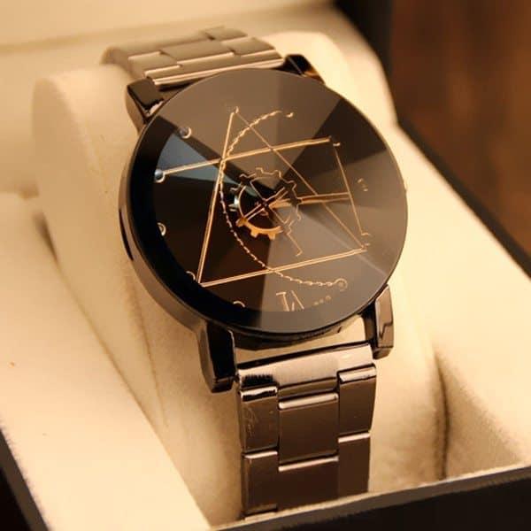 Геометрически точные наручные часы Gofuly