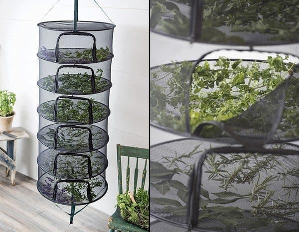 Вертикальная стойка для сушки растений Stack!t