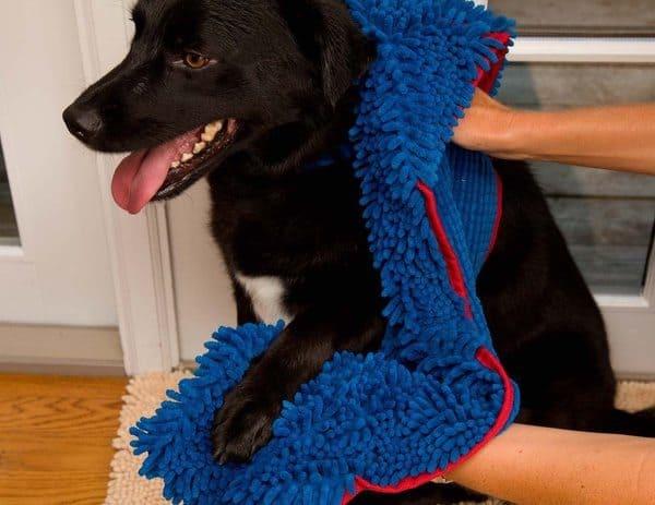 Абсорбирующее полотенце для собак Soggy Doggy