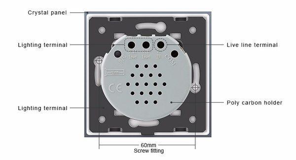 Сенсорный выключатель света Livolo