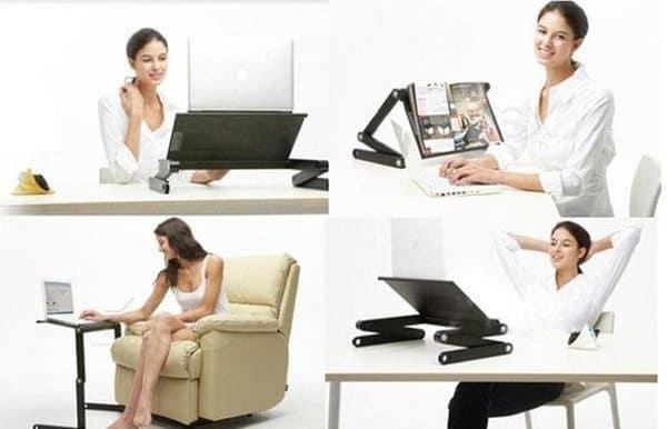 Складная охлаждающая подставка для ноутбука