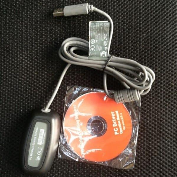 Беспроводной адаптер для подключения контроллера Xbox 360 к ПК