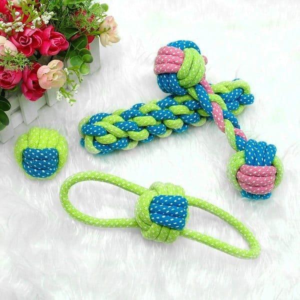 Верёвочные игрушки для собак