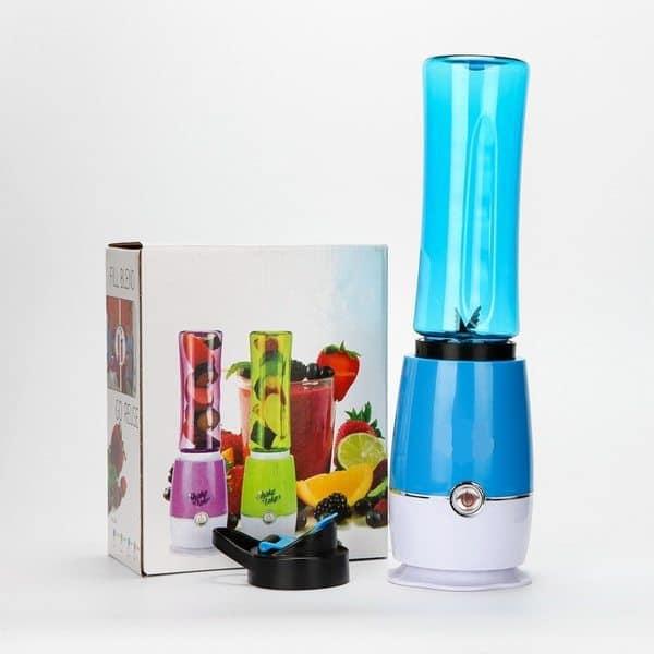 Портативный мини-блендер в виде спортивной бутылки