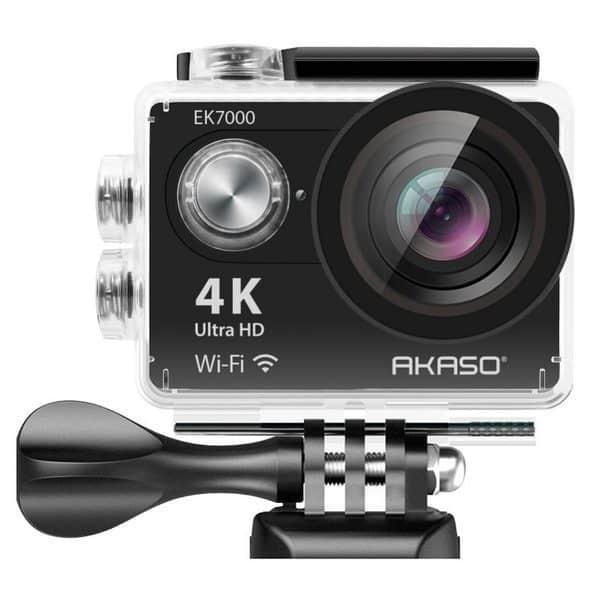 Экшн-камера с богатой комплектацией Akaso EK7000