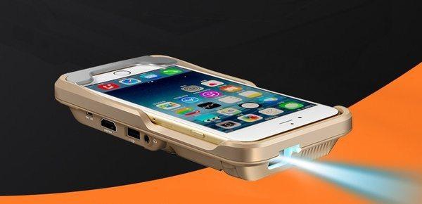 Проецирующий чехол для iPhone