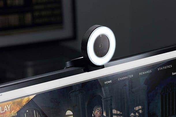 Веб-камера Razer Kiyo со встроенной подсветкой
