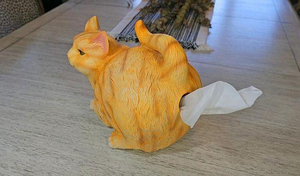 Держатель для бумажных салфеток «Кошачья попка»