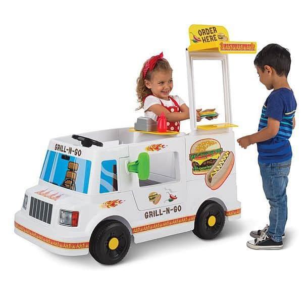 Детский портативный грузовичок для гриля