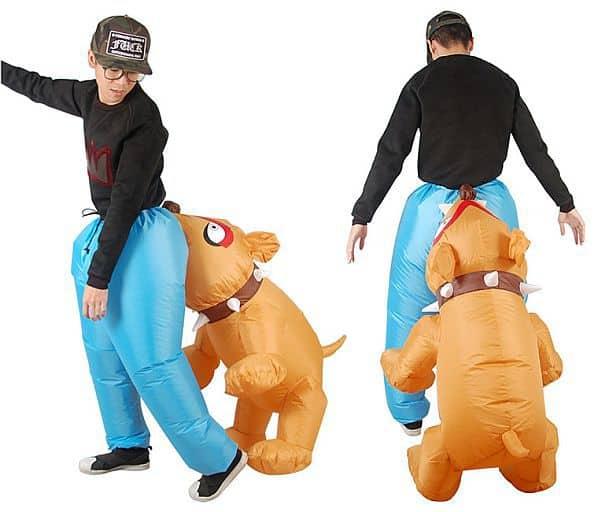 Забавные надувные маскарадные брюки