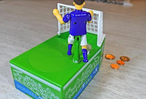 Заводная футбольная копилка