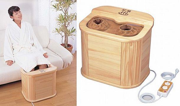 Инфракрасная массажная ванночка для ног Ashi no Suke