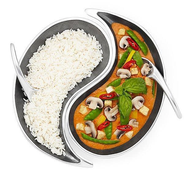 Комплект тарелок «Инь Ян»