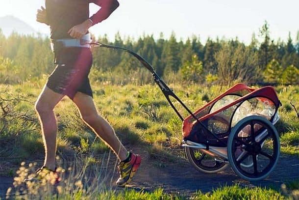 Легкая детская коляска для пробежек Kidrunner