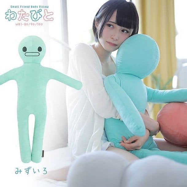 Мини-подушка для обнимашек Bibi Lab Watabito