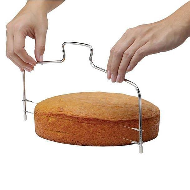 Нож-струна для нарезания торта