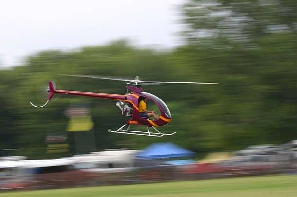Одноместный вертолет Mosquito XE