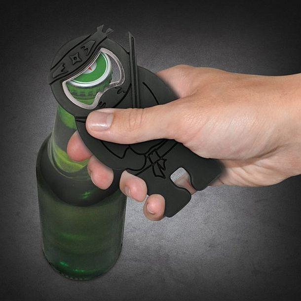 Открывалка для бутылок в виде бойца Ниндзя