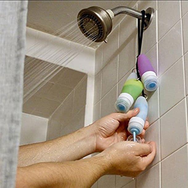 Подвесной органайзер для душа Travel Shower Tie