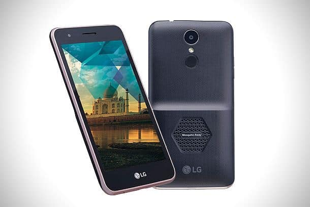 Противомоскитный смартфон LG K7i