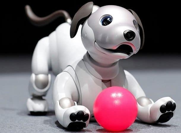 Робот-собачка Sony Aibo