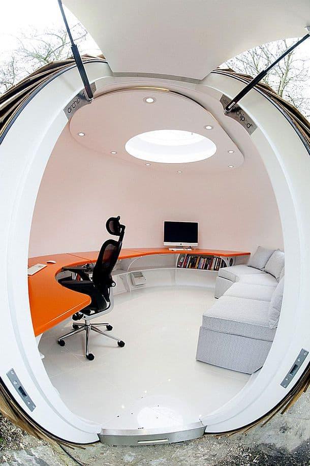 Сферический домик-кабинет Archipod