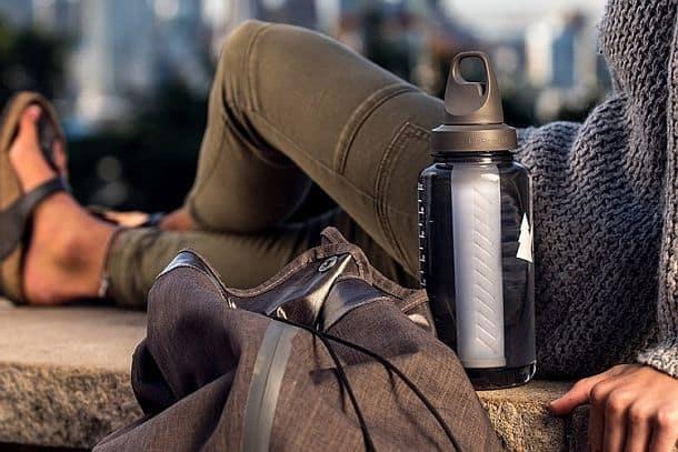 Универсальный  фильтр для очистки воды прямо в бутылке LifeStraw