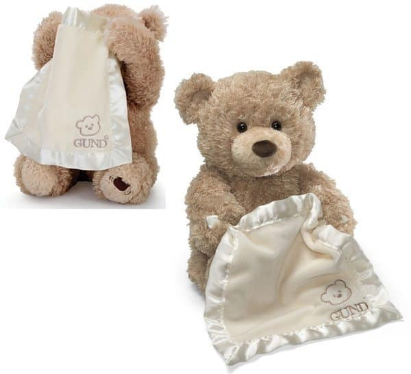 Разговорчивый плюшевый медвежонок Peek-a-Boo