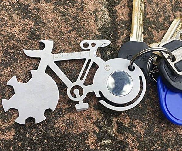 Мультитул в виде велосипеда