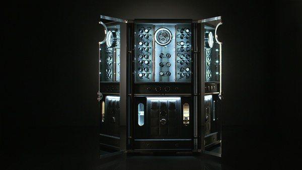 Бронированный шкаф для хранения часов Solitaire Vision