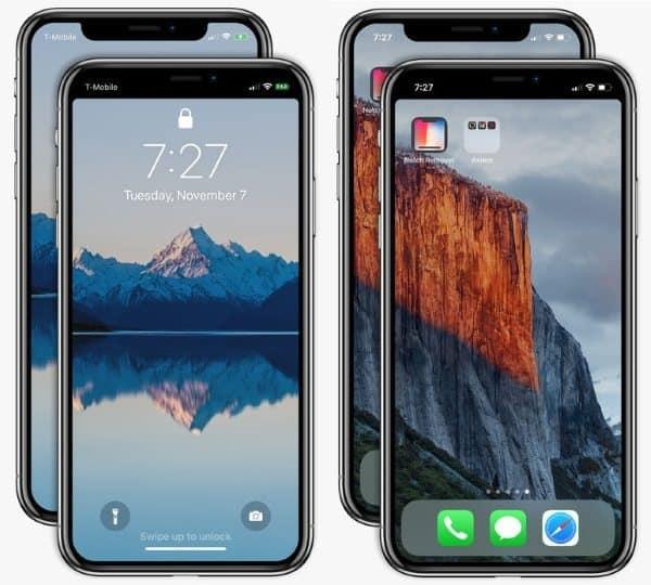 Notcho — приложение для удаления «рогов» с экрана iPhone X