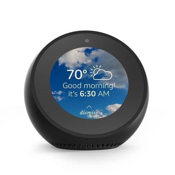 Визуальный помощник Amazon Echo Spot