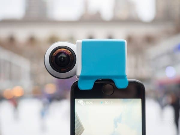 Панорамный видеомодуль для смартфонов Giroptic iO 360