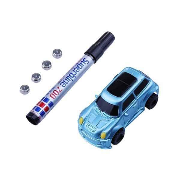 Игровой набор из машинки и маркера для рисования треков Kitoz