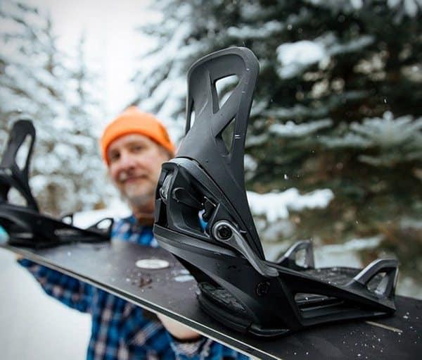 Новое сноубордическое крепление Step On от Burton