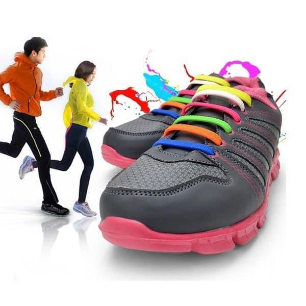 Пластиковые стяжки, заменяющие обувные шнурки