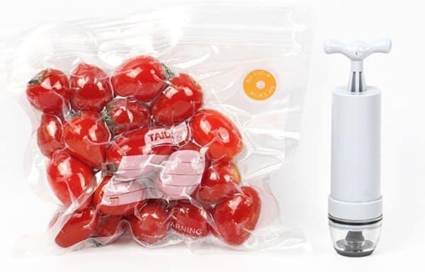 Набор для вакуумной упаковки продуктов
