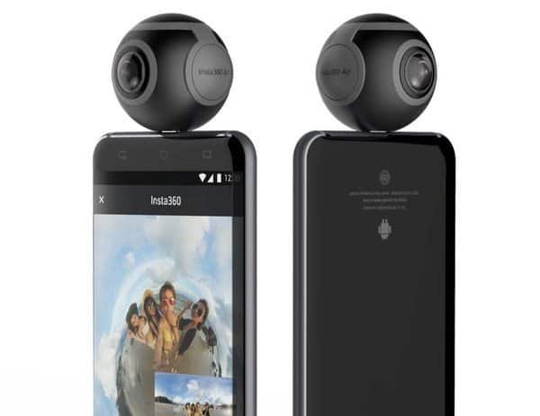 Подключаемая камера Insta360 Air с поддержкой USB Type-C