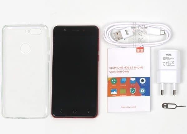 Эконом-вариант с двойной камерой Elephone P8 Mini