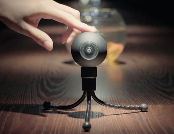 Самая маленькая в мире круговая камера Luna