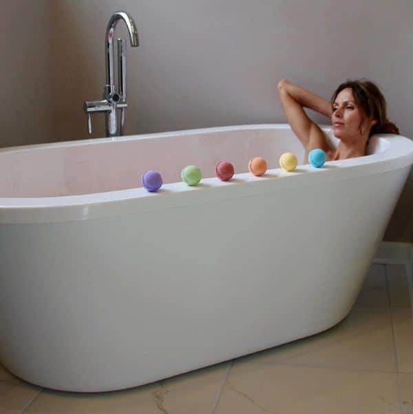 Набор ароматических бомбочек для ванной Creoy